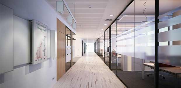 Glastüren in Büros in München