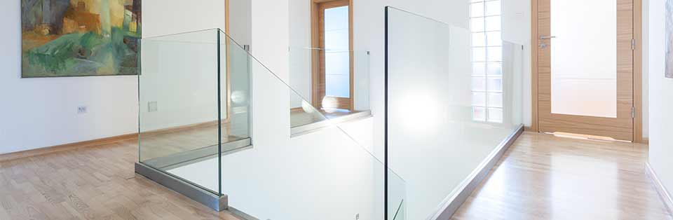 Modern and bright hallway