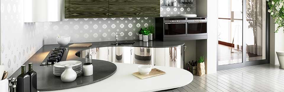 Küchendesign (panoramisch)