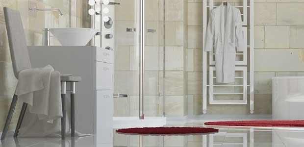 Moderne Duschkabinen aus Glas in München